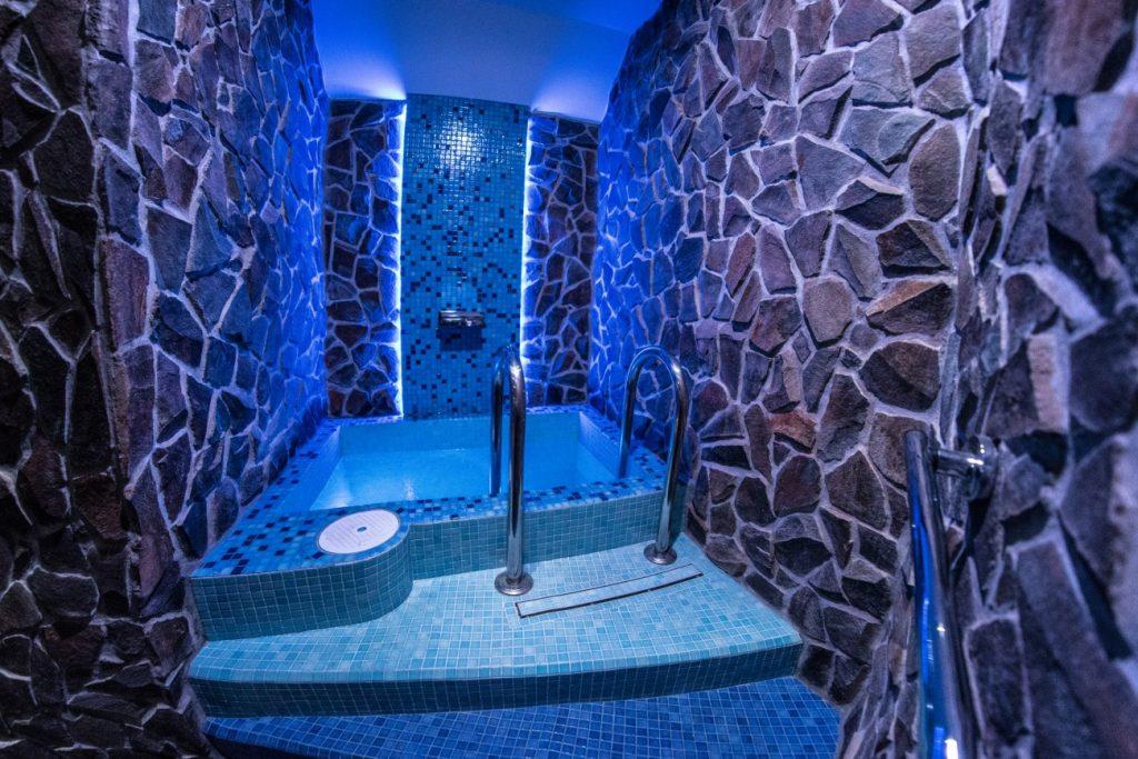 Ice Refreshment, Ľadové osvieženie, ochladzovací bazén - Wellness Paradise Žilina, Sauna & SPA, Relax