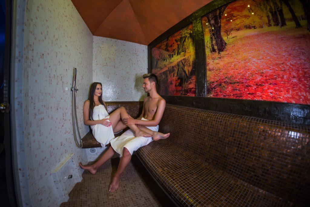 Steam inhalation bath, Parný inhalačný kúpeľ - Wellness Paradise Žilina, Sauna & SPA, Relax