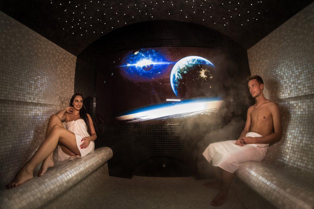 1 Steam sauna Aromatherapy, Parná sauna aromaterapia - Wellness Paradise Žilina, Sauna & SPA