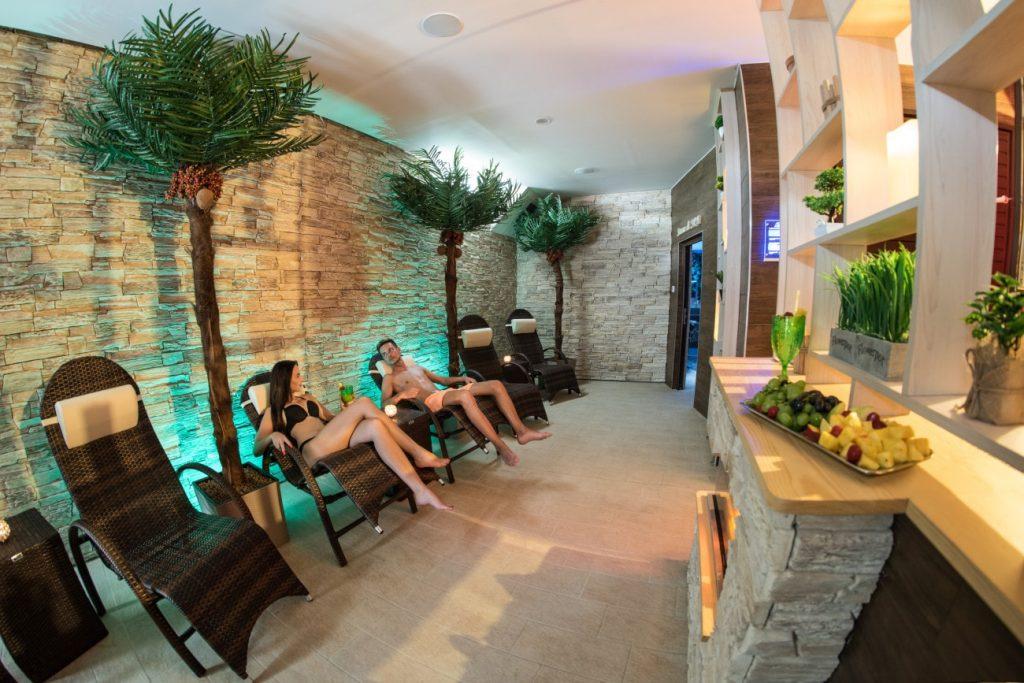 11 Tepidarium, oddychová zóna - relax zone - Wellness Paradise Žilina, Sauna & SPA, Relax