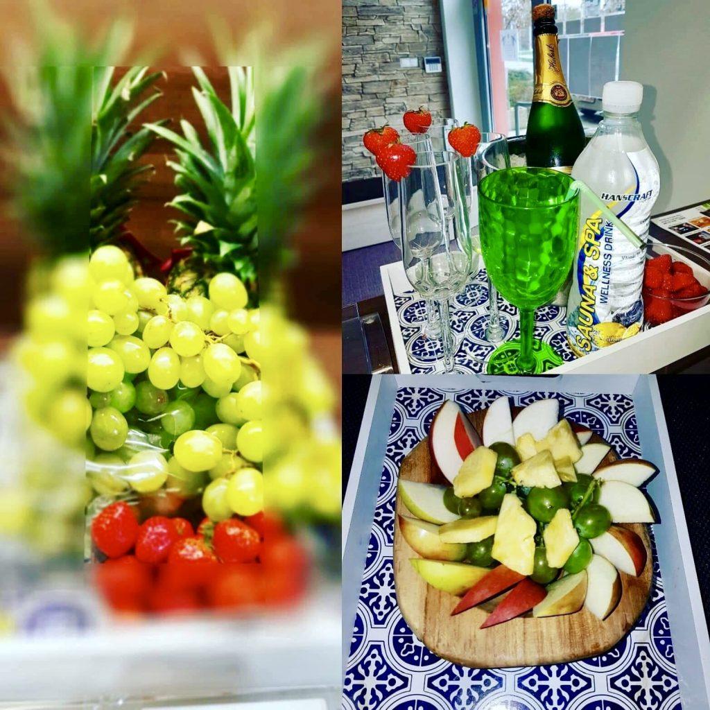 21 Fresh tropical fruit, Čerstvé tropické ovocie, Wellness napoj, Drink, Vitamíny - Wellness Paradise Žilina, Sauna & SPA, Relax