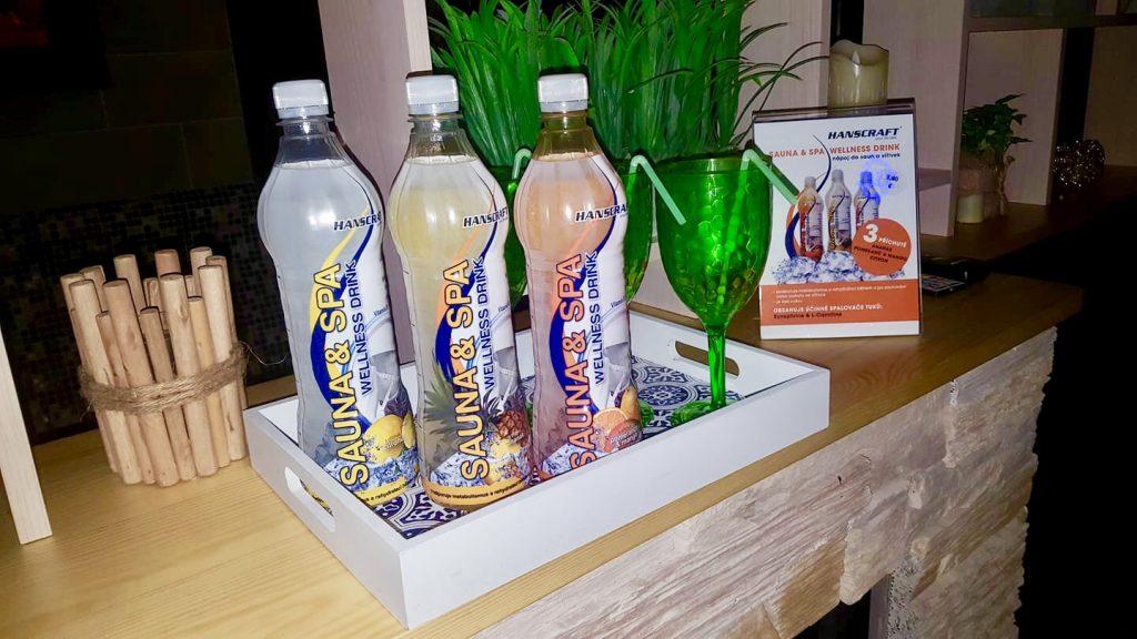 Ovocné osvieženie, zdravie, wellness nápoj