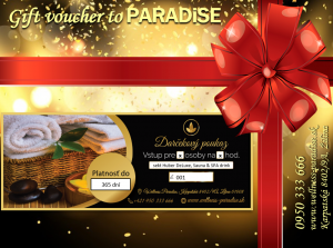 Darčekový poukaz základný, basic gift voucher